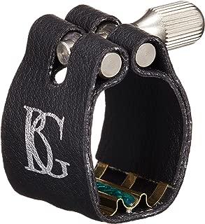 BG L4 SR Ligature with Cap, Bb Clarinet, Super Rev, Gold