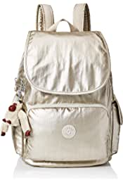 3a953757e Kipling City Pack Medium, Adjustable Backpack Straps, Zip Closure