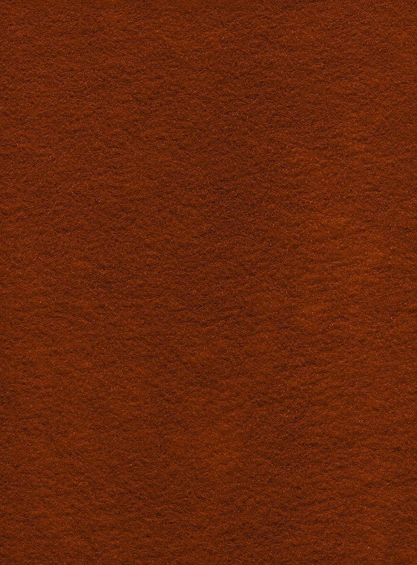 12-Piece Kunin Eco-fi Prestofelt Peel-n-Stick, 9-Inch by 12-Inch, Copper Canyon