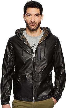 COACH - Reversible Hooded Zip Jacket