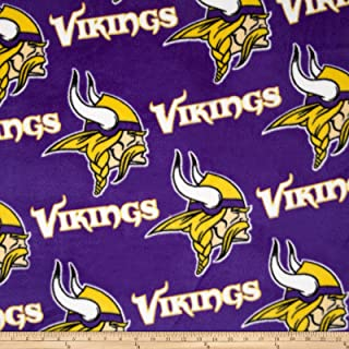 Best vikings fleece fabric Reviews