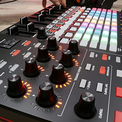 AKAI Professional APC40MKII - USB MIDI Controller for Mac / PC with Clip Launch Matrix, Knobs & Faders, and Pro Software Suite Included
