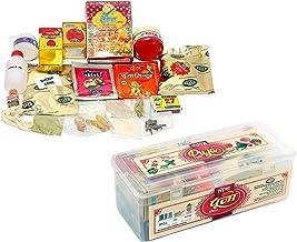 VRINDAVANBAZAAR.COM TOTA Complete Puja Samagri Kit for Home and All Occasions. Set of 21 Pooja Items in Transparent Plasti...