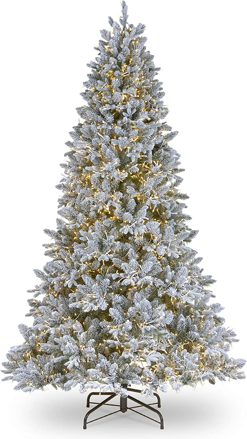 National Tree 6.5 ft. Iceland Froste 1 year warranty Lights Fir Popular popular with Clear