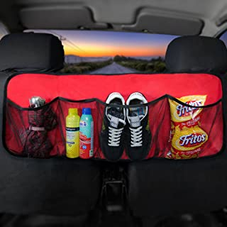 FH Group FH1122RED Car Trunk Organizer (Multi-Pocket Storage Collapsible for Easy Carry Perfect for Garage or Grocery Store), 1 Pack