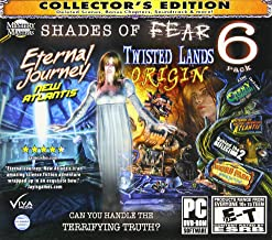 SHADES OF FEAR Hidden Object 6 PACK Collectors Edition ~ Includes: Twisted Lands Origin + Eternal Journey New Atlantis + Oddly E
