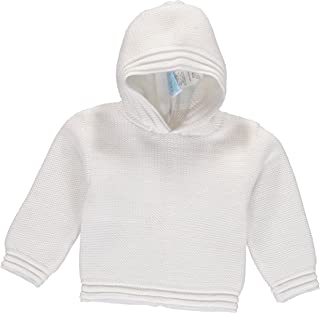 Julius Berger White Zip Back Hoodie - Hooded Sweater