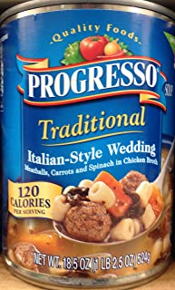 Progresso Traditional Italian-Style Wedding Soup 18.5oz Can (Pack of 5)