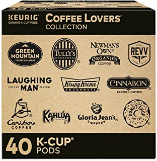 Keurig Coffee Lovers' Collection Sampler Pack, Single-Serve K-Cup Pods, Compatible with all Keurig 1.0/Classic, 2.0 and K-...