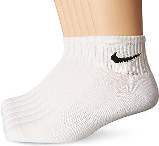 Performance Cushion Quarter Socks with Bag (6 Pairs)