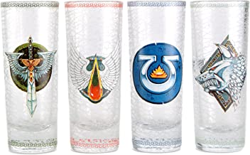 Warhammer 40,000 Set of 4 Mini Glasses - Chapter