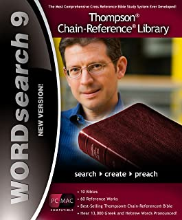 WORDsearch 9 Thompson Chain-Reference Bible Library