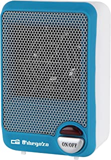 Orbegozo FH 5001 Calefactor, 600 W, Azul, Color blanco
