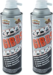 Gibbs Brand Lubricant (2-12oz cans)