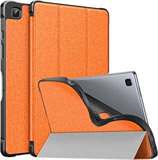 MoKo Case Fits Samsung Galaxy Tab A7 10.4 Inch 2020 Model (SM-T500/505/507), Lightweight Slim PU Tablet Case Shockproof TP...