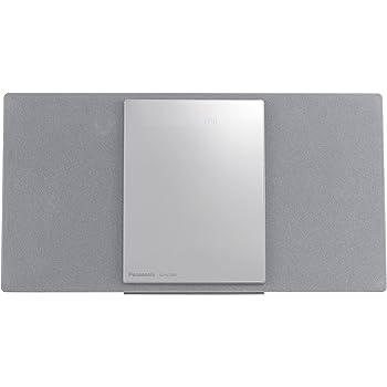パナソニック ミニコンポ Bluetooth対応 シルバー SC-HC1000-S