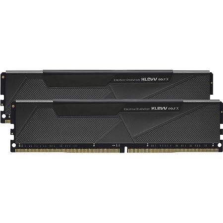 エッセンコアクレブ KLEVV デスクトップPC用ゲーミング メモリ PC4-28800 DDR4 3600MHz 16GB x 2枚 288pin SK hynix製 メモリチップ採用 BOLTX シリーズ KD4AGU880-36A180U