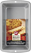 Wilton 070896590510 Recipe Right Large Loaf Pan, STANDARD, Steel