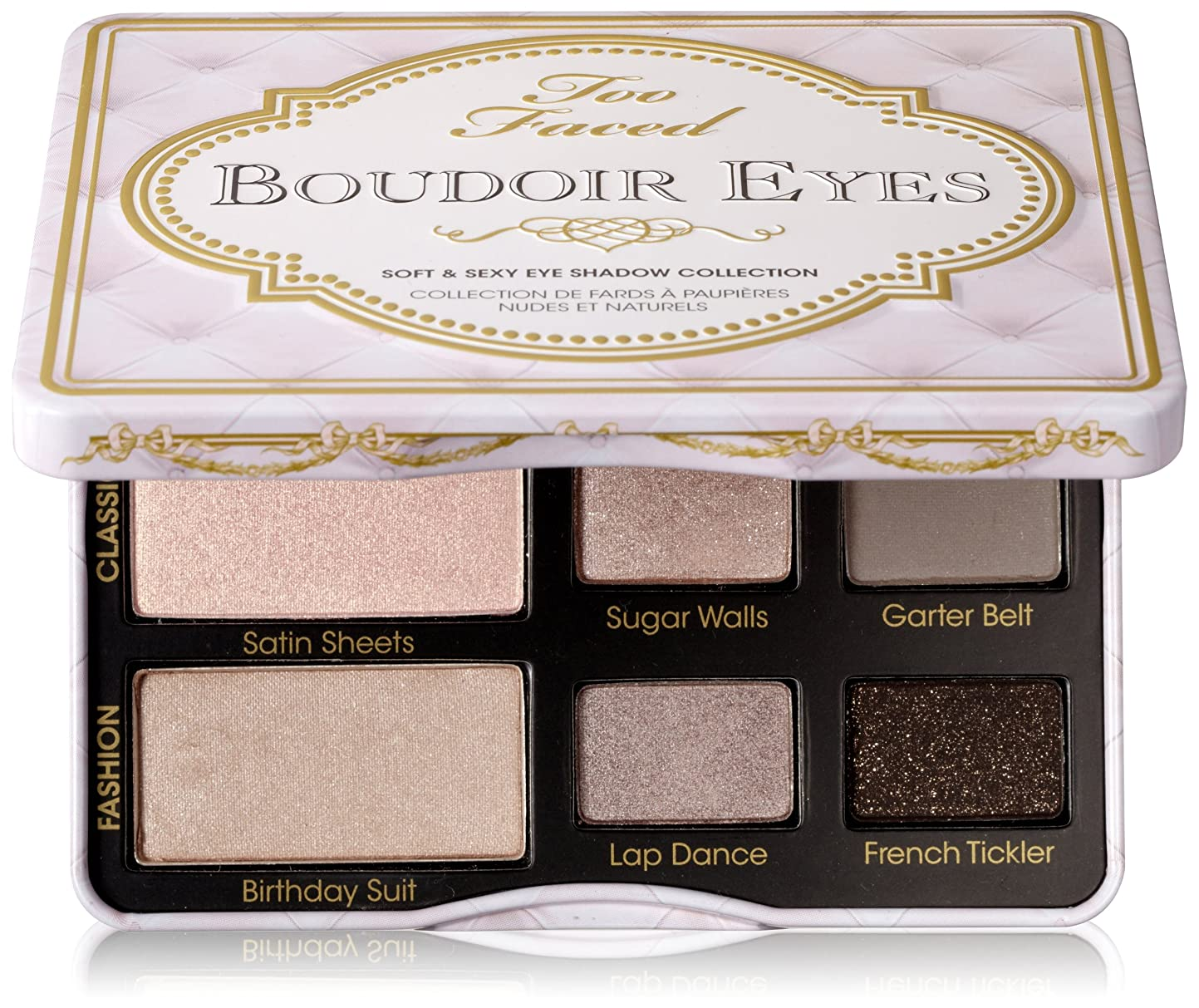 音楽を聴くセットする削るToo Faced Boudoir Eyes Soft & Sexy Eye Shadow Collection (並行輸入品)
