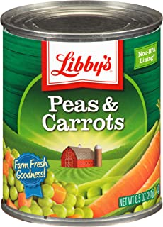 Libby's Peas & Carrots Cans, 8.5 Ounce (Pack of 12)