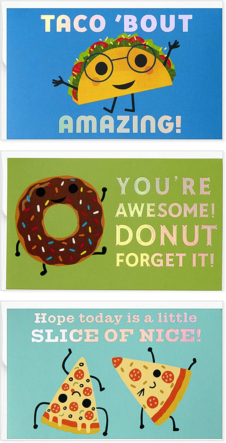 Hallmark Mini Max 66% OFF Blank Cards for Kids Bout 12 Amazing Taco Luxury goods Assort