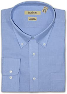 a9e167ed3fc01 Jay and Leonard Big and Tall Oxford Dress Shirt - Blue