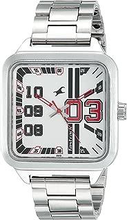 Fastrack Varsity Analog Silver Dial Men's Watch - 3179SM01