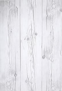 (Blanco Vintage, Paquete de 1) Papel tapiz de mural