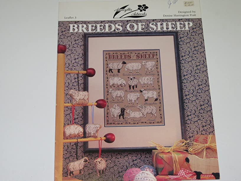 Breeds of Sheep Counted Cross Stitch