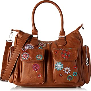 Desigual Bag Rep Nanit London, Borsa a cartella Donna, 15.5x25.5x32 cm (B x H x T)