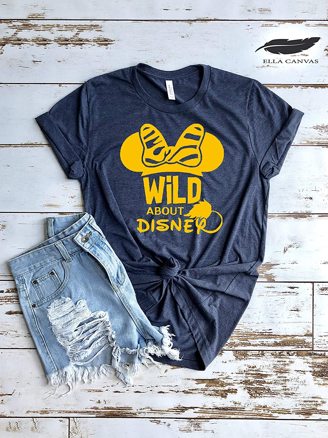 Max 51% OFF Minnie Mouse Import Wild About Disney for Shirts Matching Funny Cute
