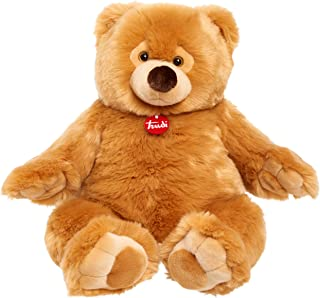 Sponsored Ad - Trudi Premium Italian Designed Ettore Giant Teddy Bear, Big 22-Inch Plush, Amazon Exclusive, Brown Bear