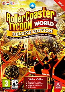 Rollercoaster Tycoon World Deluxe Edition (PC DVD)