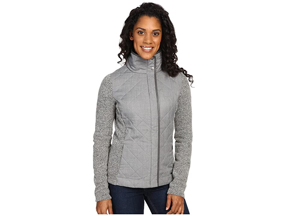 Smartwool Pinery Quilted Jacket (Light Gray Heather) Women