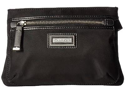 Calvin Klein Belfast Nylon Fanny Pack (Black) Handbags