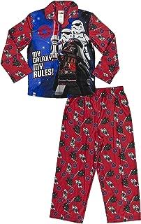 Big Star Wars Boys Coat Pajama Set, Button Front Top W/Pant