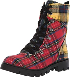 LFL by Lust for Life Women's Ll-Freek Combat Boot