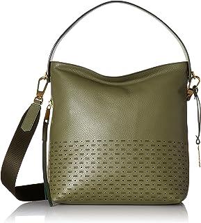 Fossil Maya Leather 12 cms Green Gym Shoulder Bag (ZB7509379)