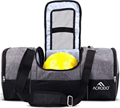 Acrodo Soccer Backpack - Girls & Boys, Men & Women's Soccer Bag With Ball Holder, Cleat Pouch, Food Storage - All Sports Bag Gym Tote for Volleyball, Basketball, Football