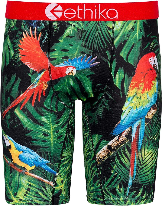 Ethika Mens Staple Boxer Briefs | Macaw Paradise