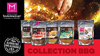 BBQ COLLECTION: STEAK SPICE RUB AND SEASONING, San Antonio, Louisiana, Spicy Maple Sugar, Mediterranean