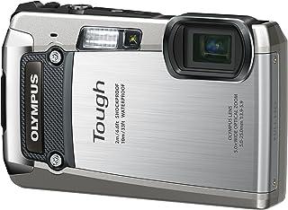 OLYMPUS デジタルカメラ TG-820 シルバー 10m防水 2m耐落下衝撃 -10℃耐低温 耐荷重100kg 1200万画素 裏面照射型CMOS 光学5倍ズーム DUAL IS ハイビジョンムービー 3.0型LCD 広角28mm 3Dフォト機能 TG-820 SLV