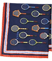 Eton - Tennis Racquet Pocket Square