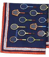 Eton - Tennis Racquet Pocket Square