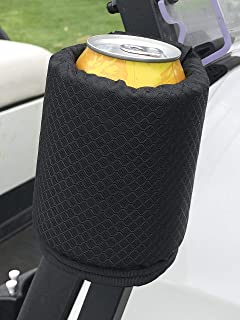 Bushwhacker Magnetic Insulated Can Cooler - Great for Golf Carts Toolbox Forklift Tractor Bus Lawnmower Boat Rangefinder Accessory Cup Holder Organizer Beer Bottle Sleeve Cozy Drink Gym 12 and 16 oz