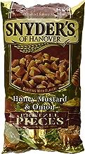 Snyder's of Hanover Honey Mustard Onion Flavored Pretzel Pieces 12 Oz. Bag (2 Pack)