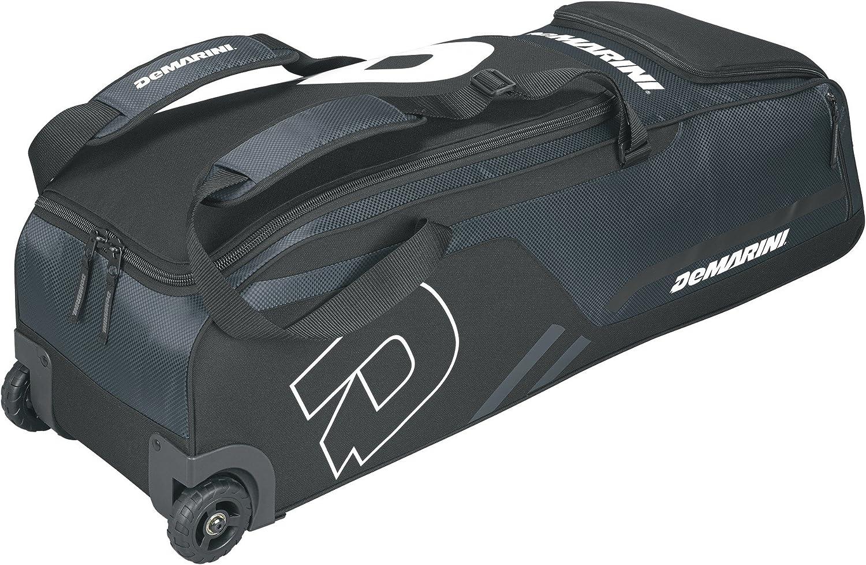 Amazon.com : DeMarini Momentum Wheeled Bag, Charcoal : Sports & Outdoors