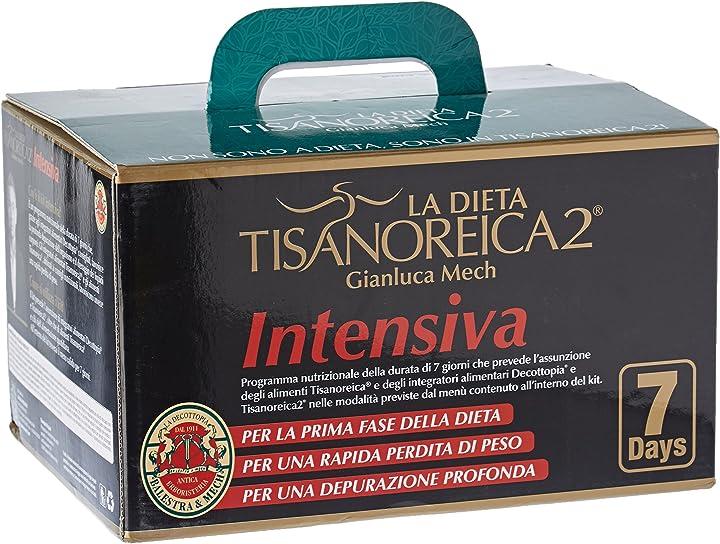 Tisanoreica2 - intensiva, kit per 7 giorni gianluca mech la dieta 927107045