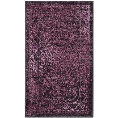 Purple Kitchen Rug Amazon Com