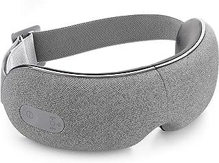 ماساژور چشم Breo با حرارت ، فشار هوا و موسیقی اختیاری ، ماساژ چشم قابل تنظیم برای رفع خستگی چشم میگرن ، خشکی چشم